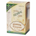 Funtional Herbal Blends Organic Ginger Turmeric w/ Black Pepper