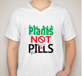 Plants Not Pills T-Shirt