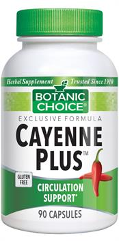 Cayenne Plus Capsules (Botanic Choice)