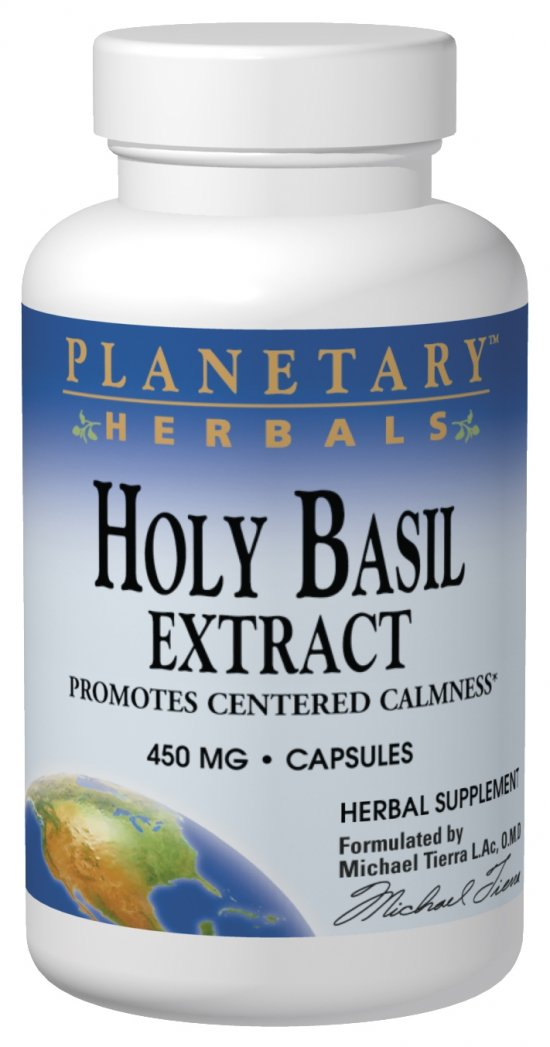 Holy Basil (Tulsi) Extract Capsules (450mg)