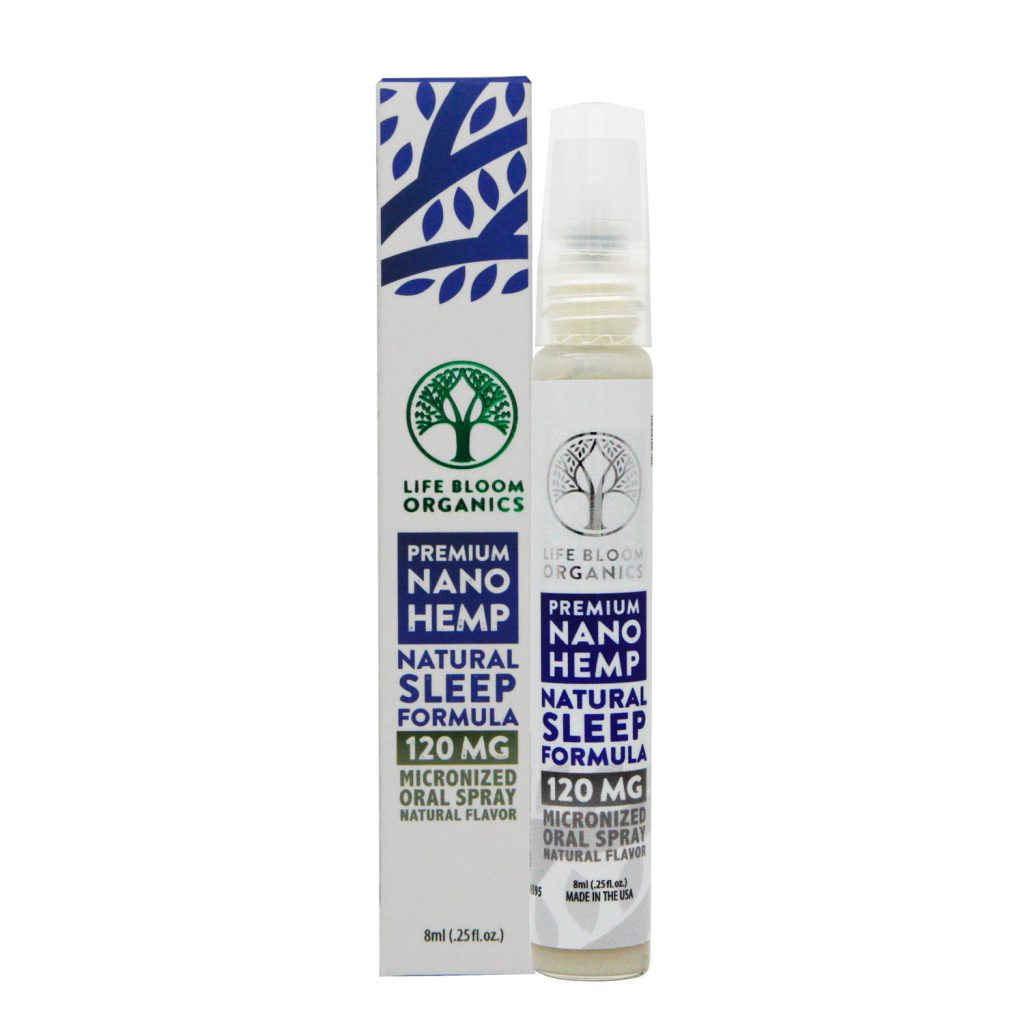 Premium Nano CBD Sleep Spray 120mg (Life Bloom Organics)