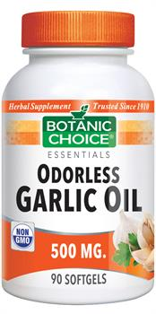 Odorless Garlic Capsules (500mg)