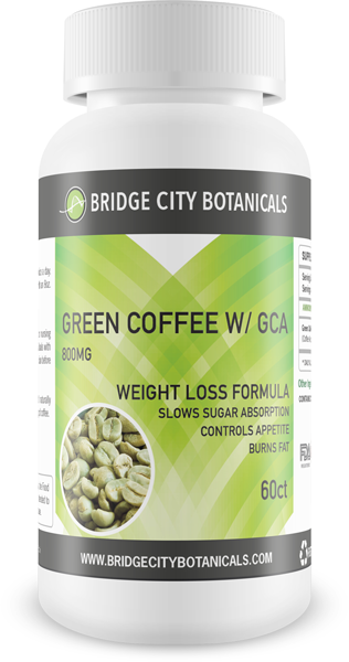 FREE Green Coffee with GCA (800mg)