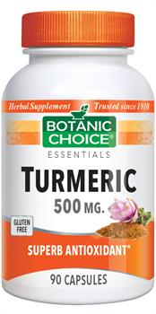 Turmeric - 500mg (Botanic Choice)