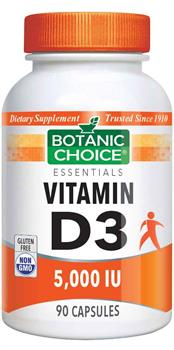 Vitamin D3 5000 IU (Botanic Choice)