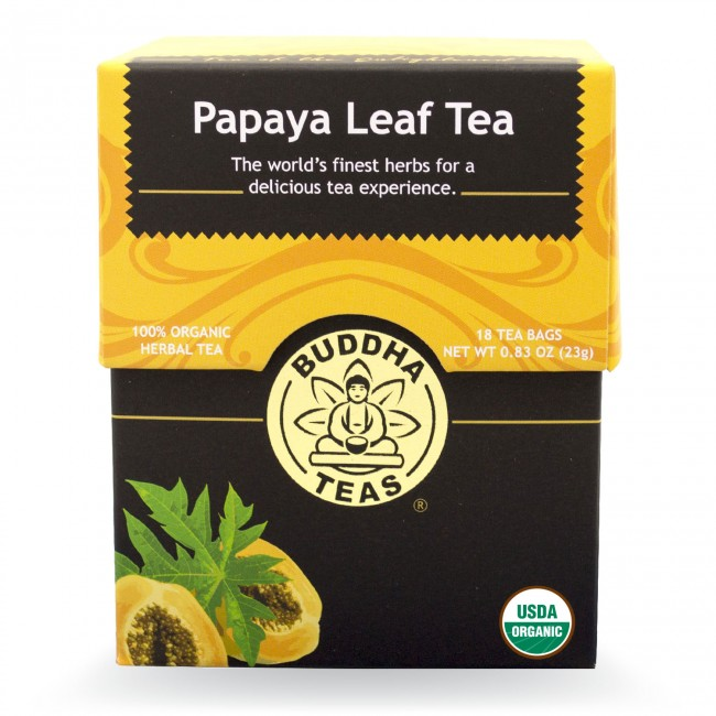 Buddha Teas Organic Papaya Leaf Tea