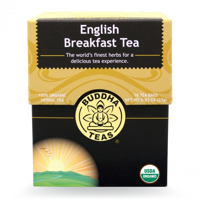 Buddha Teas Organic English Breakfast Tea