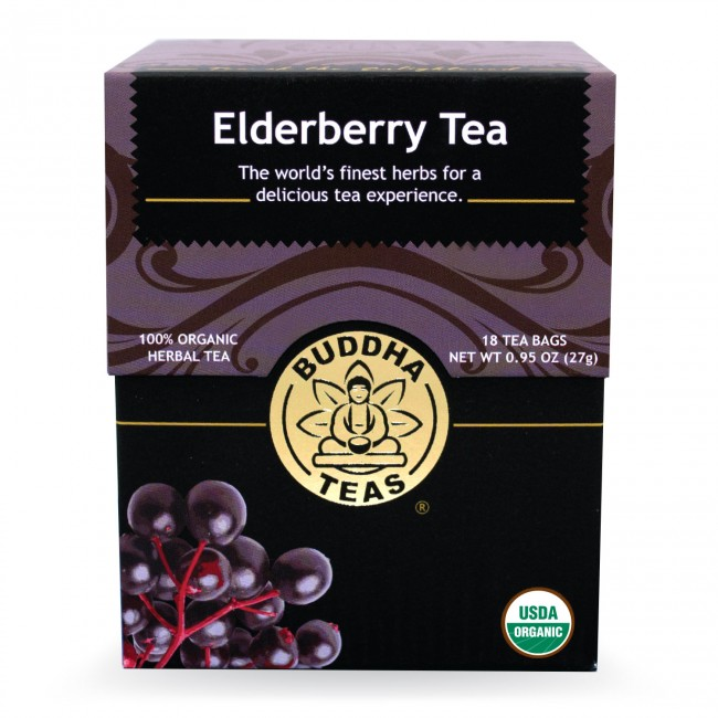 Buddha Teas Organic Elderberry Tea
