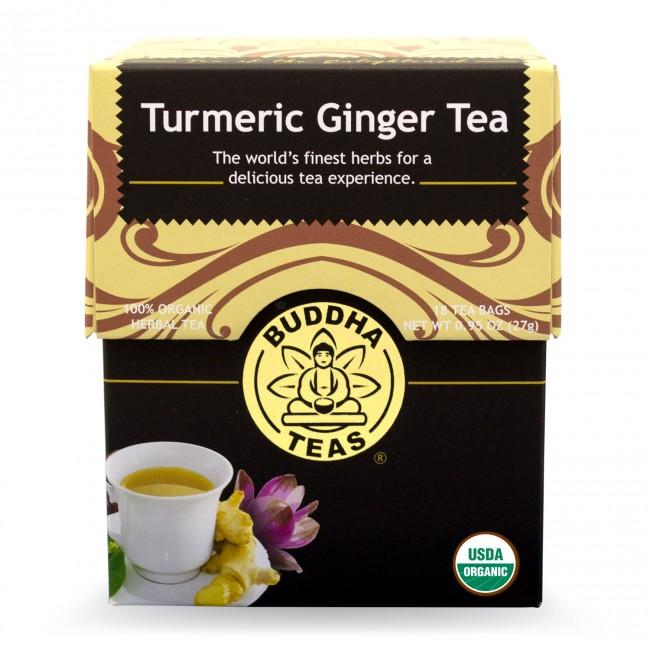 Buy Buddha Teas Organic Turmeric Ginger Tea