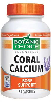 Coral Calcium 500mg (Botanic Choice)