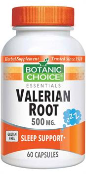 Valerian Root Capsules - 500mg (Botanic Choice)
