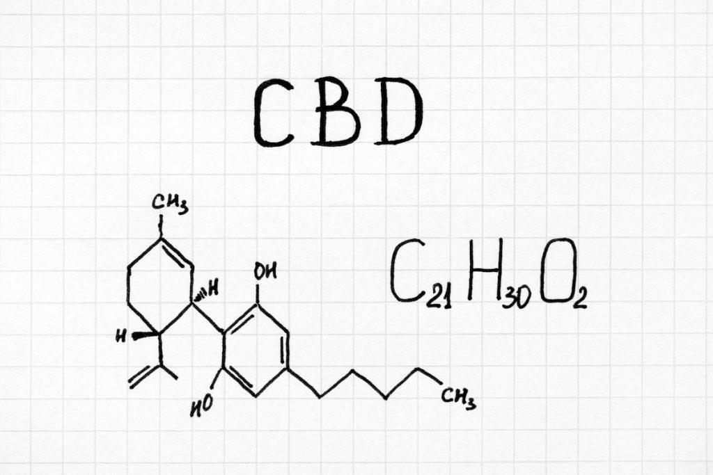 CBD molecule Phytoextractum