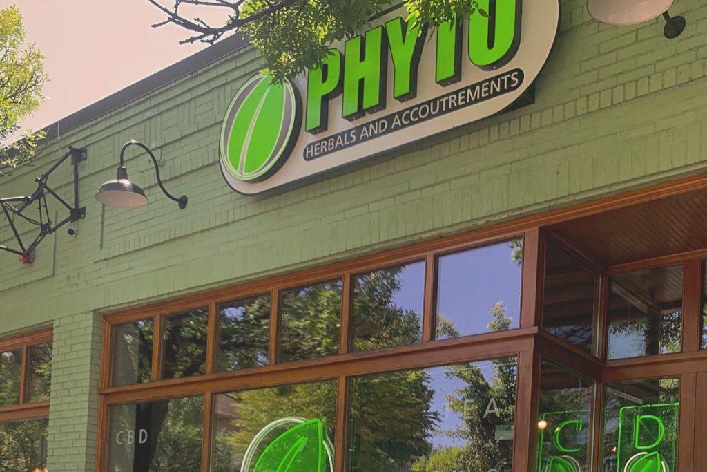 phyto retail storefront kratom retailer