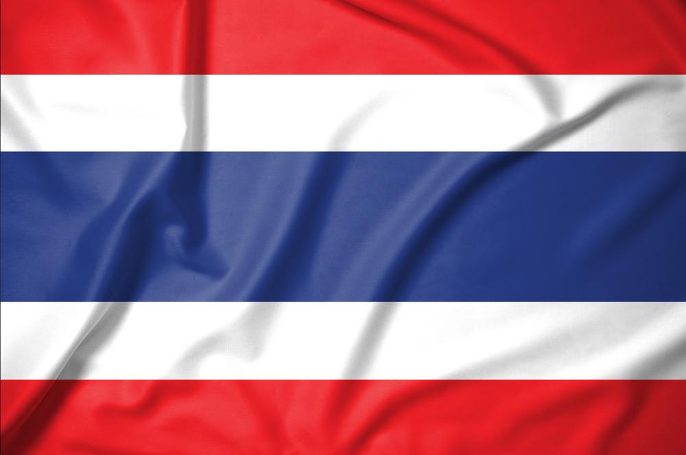 thailand flag red white blue stripes