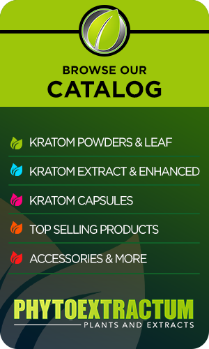 Banner For Kratom Products