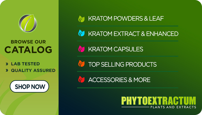 Buy Kratom online at Phytoextractum