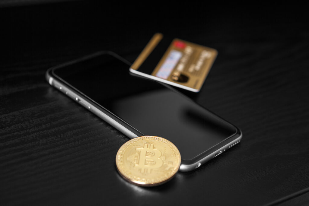 bitcoin phone credit card