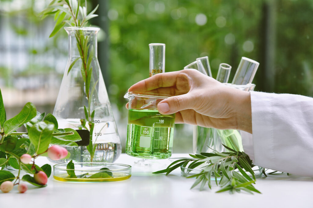 plant extracts science lab