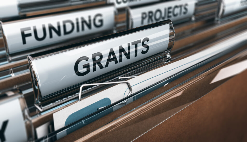 funding grants projects file folders
