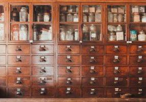 herb storage apothecary